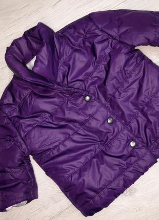 Красивая стильная детская деми куртка