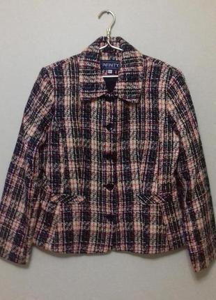 Пиджак сюртук жакет куртка infiniti размер 42