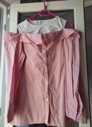 Оригинальная рубашка 2 в 1