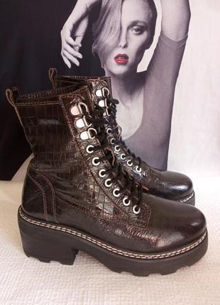 Topshop кожаные оригинальные ботинки 36