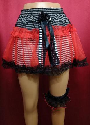 Эротическая юбка с подвязкой
