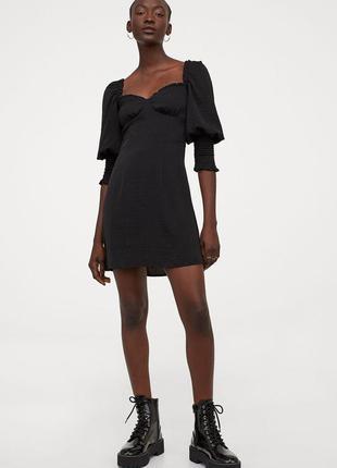 Платье женское  h&m черное