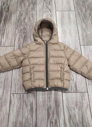 Лёгкий куртка пуховик