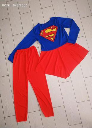 Костюм супермен супервумен
