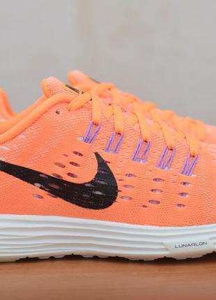 Женские оранжевые легкие кроссовки nike lunartempo, 38 размер. оригинал