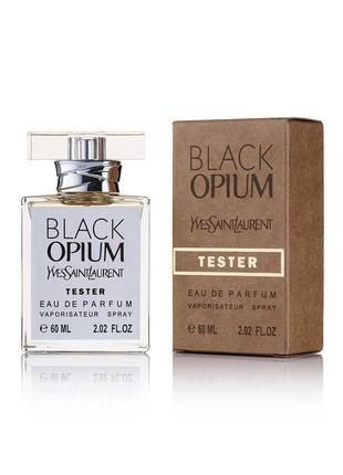 Парфюмированная вода тестер yves saint laurent black opium