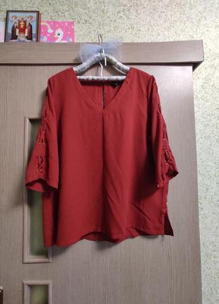 Стильная рубашка,блуза,батал 56-60