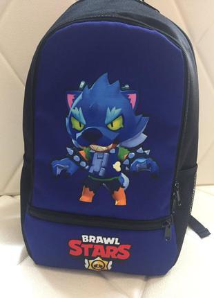 Бравл старс рюкзак для мальчика леон кот