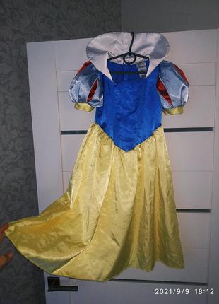 Костюм платье белоснежки