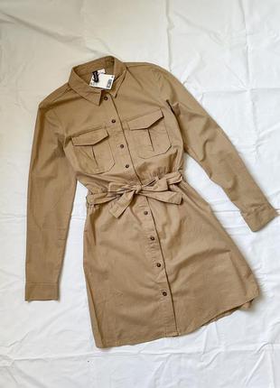 Коттоновое платье h&m