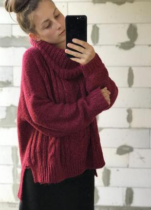Шикарный объёмный свитер база