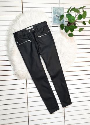 Черные джинсы с пропиткой под кожу next p. m