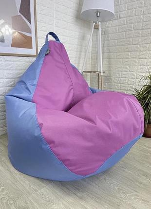 Кресло груша оксфорд микс
