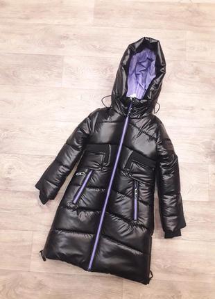 Стильная зимняя куртка для девочек 34-42 рр