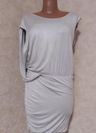 Трикотажное платье guess, s-m