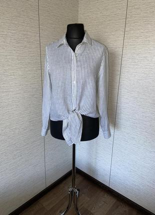 Сорочка h&m із льону