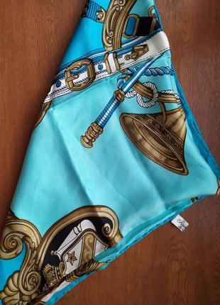 Яркий платок из шелка от sevini