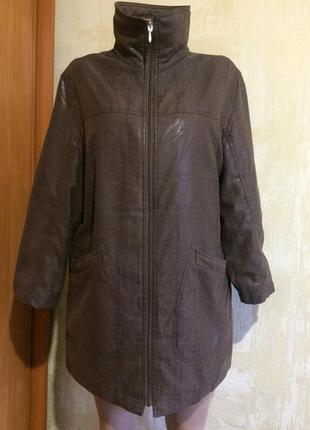 Красивая тёплая куртка !огромный выбор новой одежды!