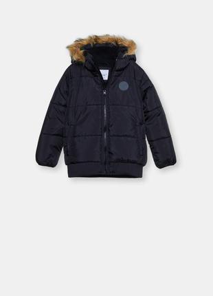 Демисезонная куртка sinsay размер 134 на 9 лет на флисе осень