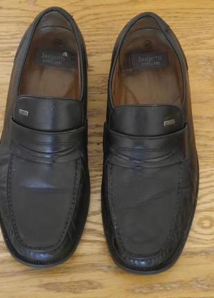 Туфлі шкіряні розмір 43 стелька 28 см bugatti
