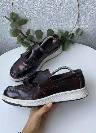 Кожаные туфли dr.martens