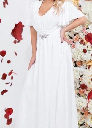 Свадебное-вечернее платье.