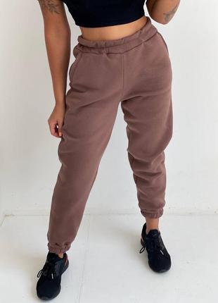 Стильные женские спортивные штаны на флисе с начесом ❤️