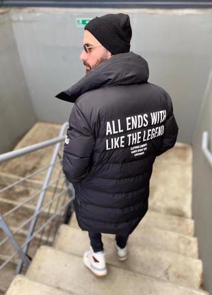 Мужская удлинённая куртка/парка