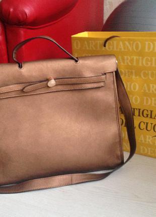 💼 бесплатная доставка! шикарная сумка-портфель для бизнес леди из италии!😍