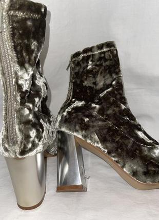 Демисезонные сапожки-ботинки