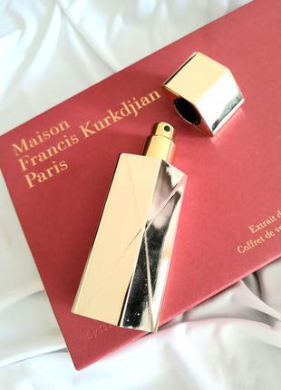 ❤ maison francis kurkdjian baccarat rouge 540 extrait  трэвэл флакон 11 мл в чехле