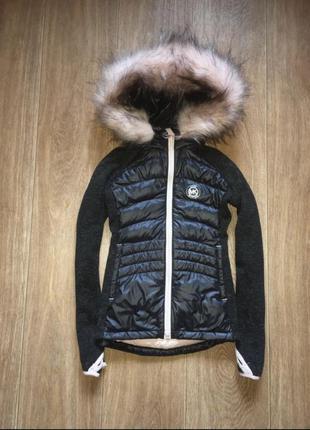 Пуховая курточка (бомбер) michael kors