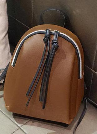 Матовый мини рюкзачек