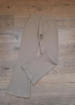 Трикотажные широкие штаны. широкі штани