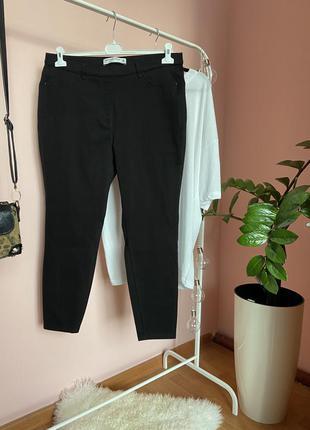 Котонновые брюки, хорошо тянутся на 54р.
