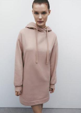 Платье свитшот zara