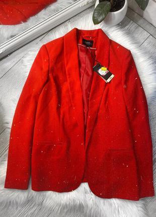 Красный пиджак ❤️