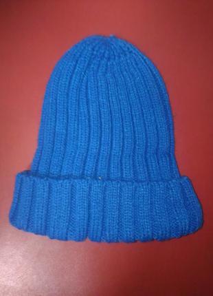 Зимняя шапка турция вязаная к-280