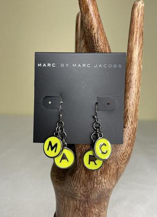 Сережки marc jacobs