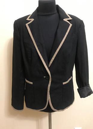 Новый пиджак лен на подкладке