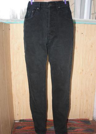 Стильные mom/мом джинсы чёрные