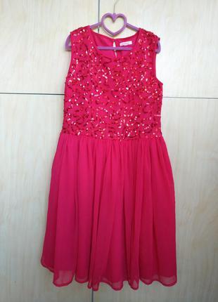 Нарядное платье bluezoo на 11-13 лет