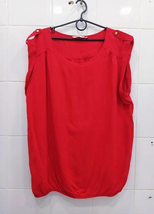 Натуральная вискозная футболка блуза