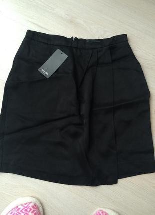 Новая чёрная юбка манго mango