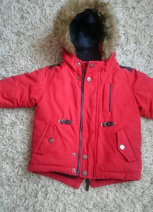 Детская зимняя куртка next в отличном состоянии!