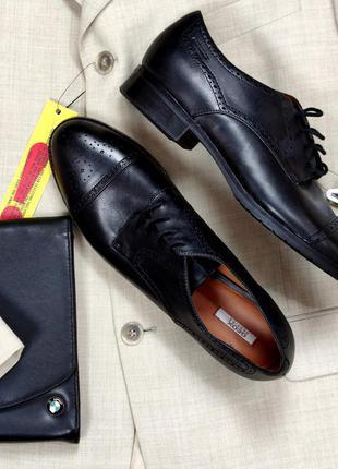 Брендовые качественные мужские кожаные туфли броги geox