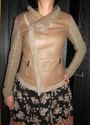 Vera pelle куртка косуха р.44 италия