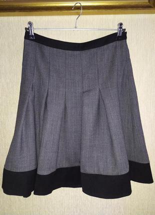 Bally италия фирменная юбка шерсть, оригинал,р.36-38