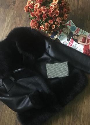Куртка дубленка косуха