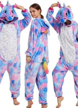 Кигуруми единорог искорка пижамка